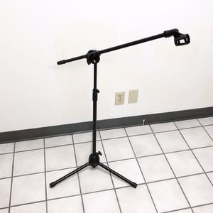 (NEW) $15 Microphone Boom Stand Mic Clip Holder Studio Arm Adjustable Foldable Tripod for Sale in Whittier, CA