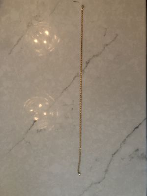 14kt gold Italian made choker chain for Sale in Wellesley, MA
