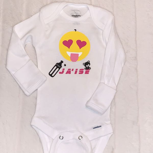 CUSTOMIZE your Baby onesie