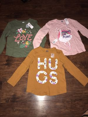 Size 4T- long sleeve shirts for Sale in Kennewick, WA