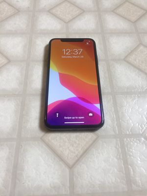 Att & cricket only - iPhone X -256gb $450 , No trade , Nothing wring with it for Sale in West Sacramento, CA