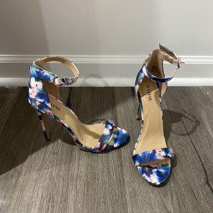 Floral Print Heels for Sale in Manassas, VA