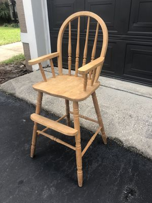 """Kids High Chair - Sturdy - 23"""" Height From The Seat To The Floor - Delivery Available for Sale in Orlando, FL"""