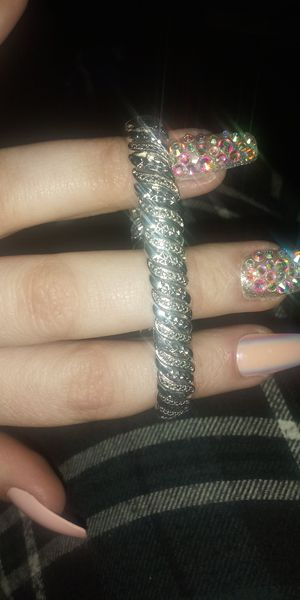 Silver Diamond Bracelet for Sale in Vacaville, CA