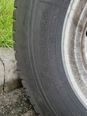Truck tire.(jumbo)all 4 for Sale in Kissimmee, FL