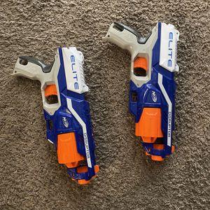 2 Nerf Elite Guns for Sale in Germantown, MD