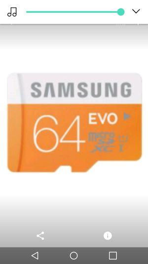 Samsung 64gb sd card for Sale in Nashville, TN