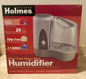 Holmes Warm Mist Humidifier (like new) for Sale in Santa Clara, CA