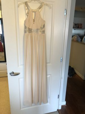 LuLus Formal Cream Colored Dress for Sale in Washington, DC