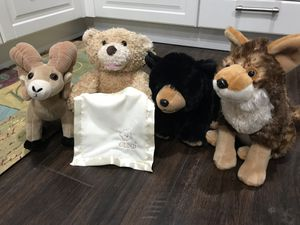 Kid toddler baby stuffed animals for Sale in Austin, TX