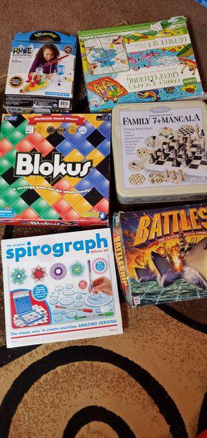 6 of board games for Sale in Everett, WA
