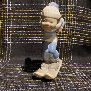 """Lladro Skier Puppet (boy), Glazed Finish, Approx Height 8"""", Price Negotiable for Sale in Crystal Lake, IL"""
