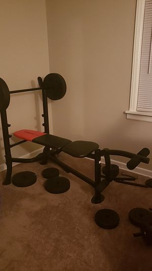 Weider home gym w/ all pieces! for Sale in Akron, OH