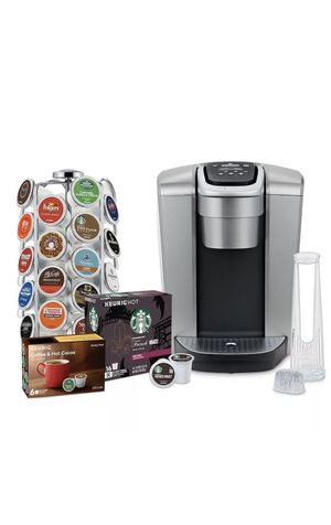 Brand New Keurig K-Elite Coffee bundle with 36 Count Carousel + 22 K cups for Sale in Rogers, MN