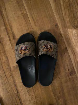 Gucci slides. Men's size 10.5 for Sale in Boulder, CO