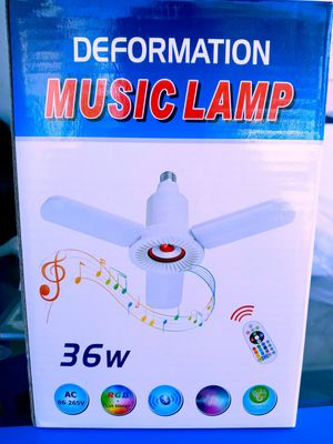 LED Bluetooth Music Lamp for Sale in Erwin, NC
