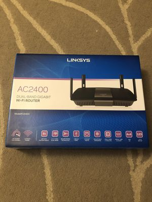 Linksys AC2400 Dual Band Gigabit WiFi Router for Sale in Westerville, OH