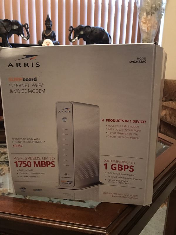 Almost new Modem and Wifi router $200 retail