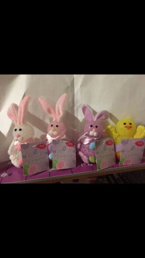 $5 for all, three Easter bunny light works good, with one chick, set of four, for Sale in Redmond, WA
