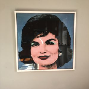 Andy Warhol Jackie Kennedy Framed Painting for Sale in Alexandria, VA
