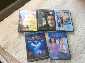 5 DVDs movies for Sale in Philadelphia, PA