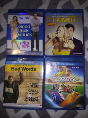 12 BluRay. $7 For All for Sale in Wahneta, FL