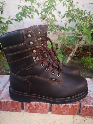 Brand new wolverine steel toe work boots size 10.5 for Sale in Riverside, CA