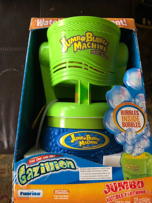 Gazillion jumbo bubble machine