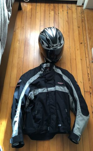 Jacket with helmet for Sale in Boston, MA