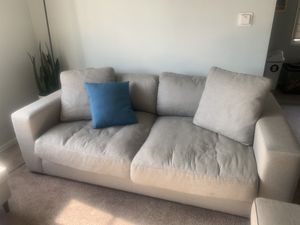 Light Grey Couch For Sale!! for Sale in West Los Angeles, CA