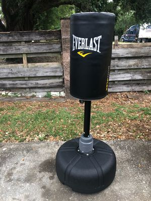 Omniflex punching bag + wireless headphones for Sale in Lakeland, FL