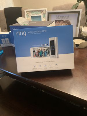 Ring Doorbell Pro (Never Opened) for Sale in Seattle, WA