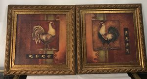 "Set of 2 rooster Pictures 23"" x 22"" for Sale in Joint Base Lewis-McChord, WA"