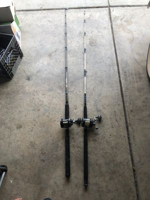 Penn & Shakespeare Fishing Rods for Sale in Stockton, CA