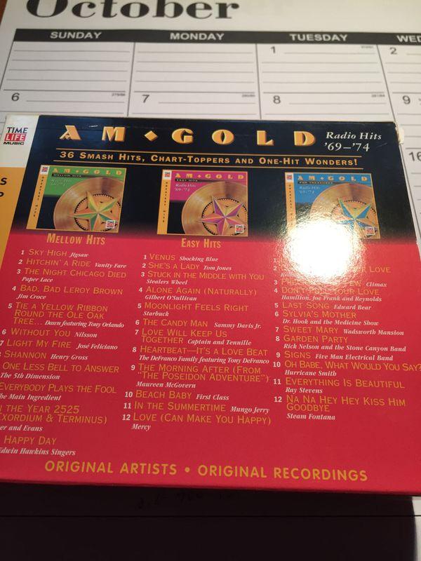 CD 3pack 1969-74 hit , 3 pack 1 hit wonders