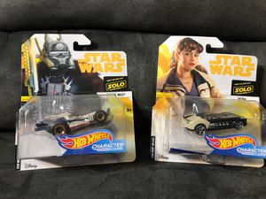 Star Wars hotwheels Enfys Nest and Qi'ra $10 both for Sale in Paramount, CA