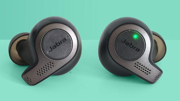 Jabra Truly Wireless earphones. Headphones