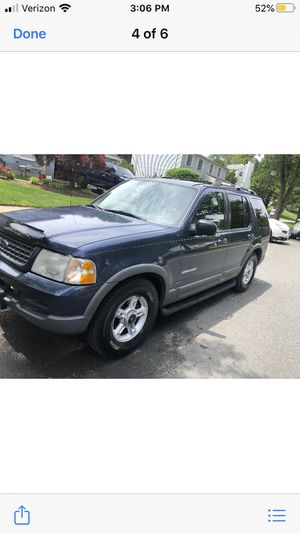 2003 Ford Explorer XLT all wheel drive Runs and looks great garage garage kept very dependable all options New tires new brakes for Sale in Berwyn Heights, MD