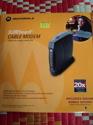 Cable modem for Sale in Portland, OR