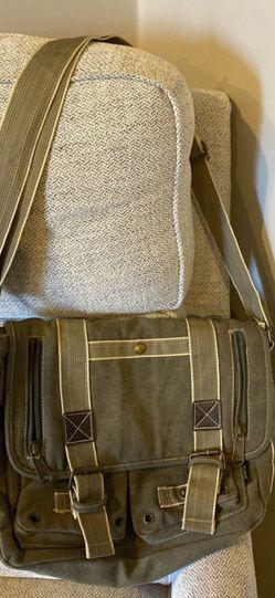 """""""AHMIK"""" Unisex Canvas Messenger Bag for Sale in West Sacramento,  CA"""