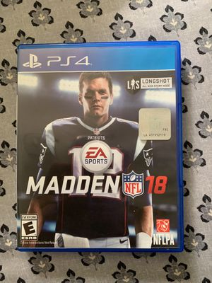 Madden 18 ps4 for Sale in Durham, NC