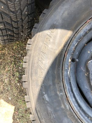 235/75R15 Kelly wintermark winter tires for Sale in CT, US