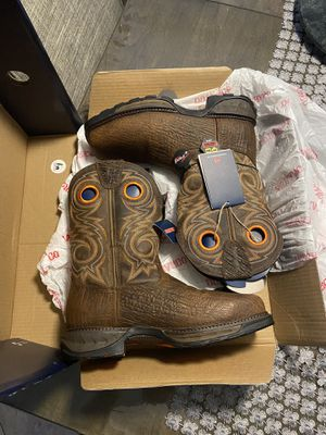 Durango work boots western composite toe size 10 for Sale in Los Angeles, CA