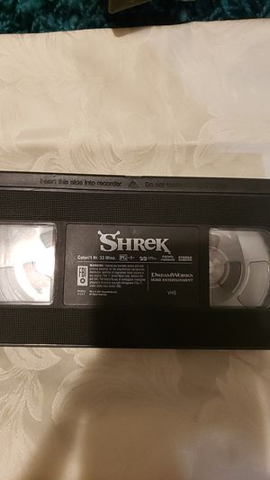 Shrek VHS tape for Sale in Atlanta, GA