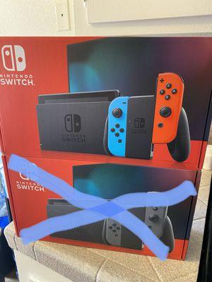 Nintendo Switch Console for Sale in Chula Vista, CA
