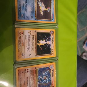3 First Edition Holo Pokemon Cards for Sale in St. Petersburg, FL