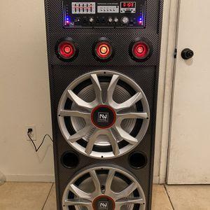Nutek Speaker for Sale in Dinuba, CA