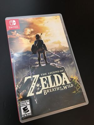 Zelda breath of the wild for Sale in Haines City, FL