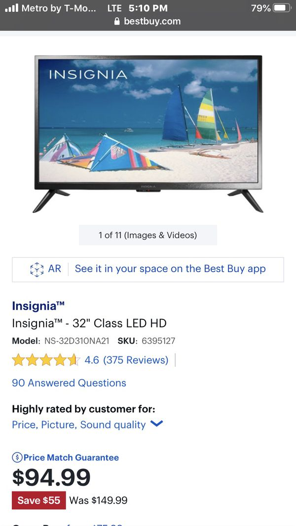"Insignia™ - 32"" Class LED HD Smart Fire TV EditionTV"