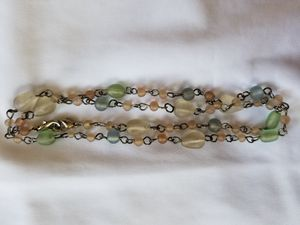 Sea Glass Necklace/ Eyeglass Holder for Sale in Poway, CA